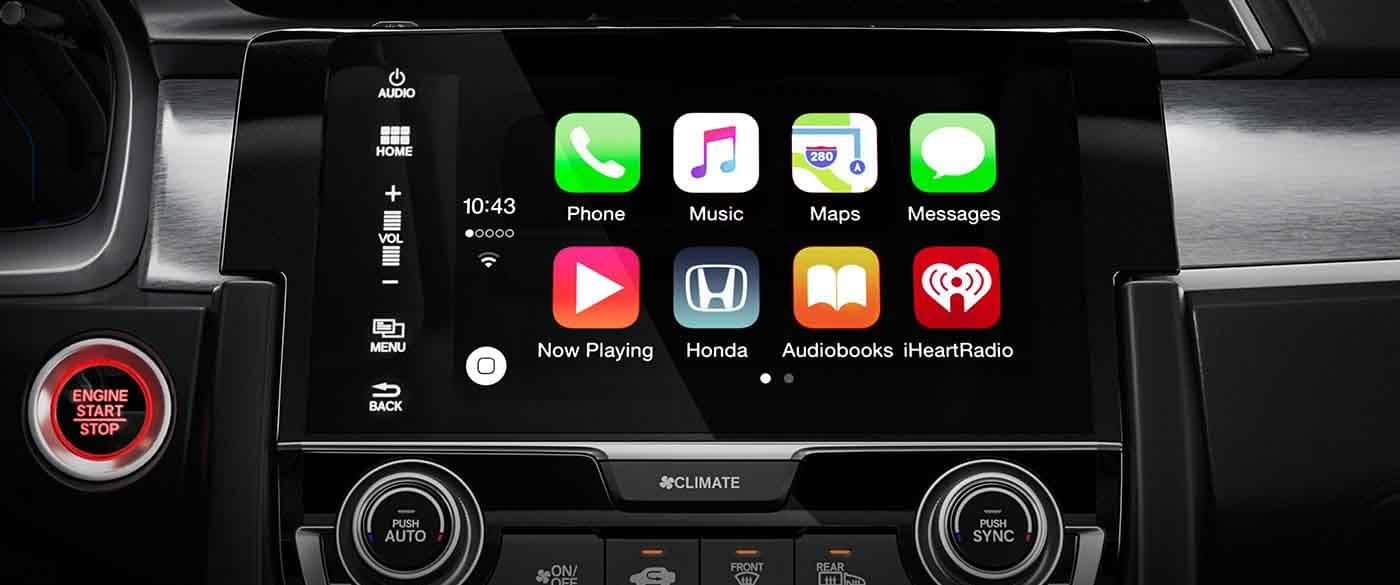 2018 Honda Civic Hatchback Apple Carplay