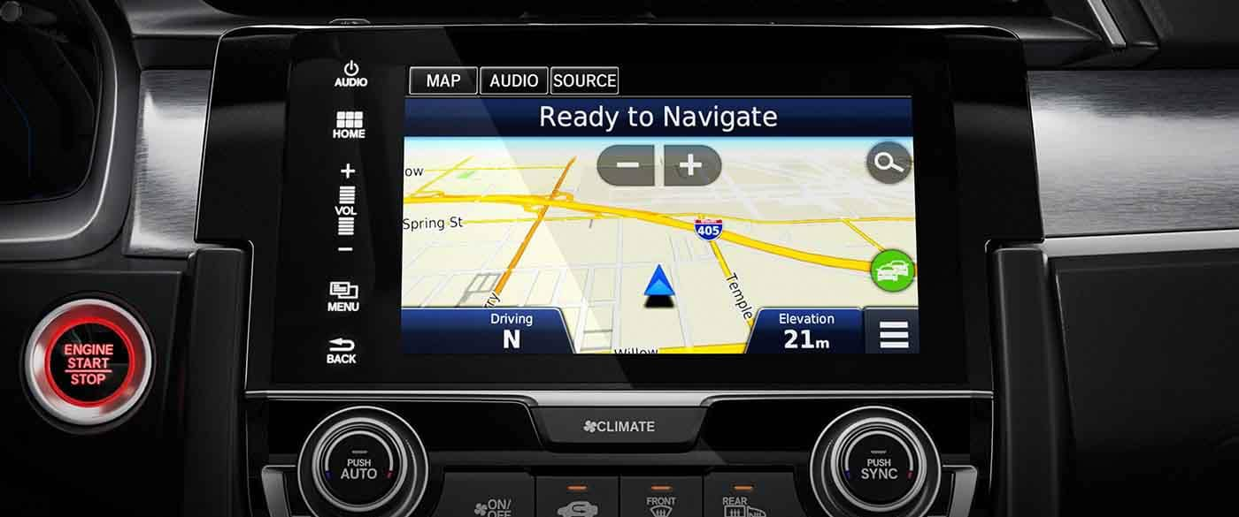 2018 Honda Civic Hatchback Navigation