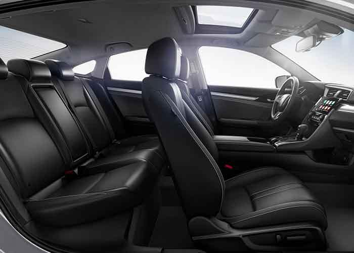 2018 Honda Civic Sedan Interior Seating Side View