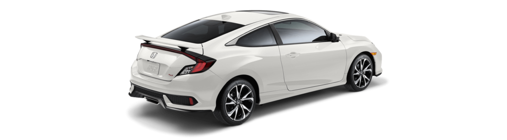 2018 Honda Civic Si Coupe Rear Angle