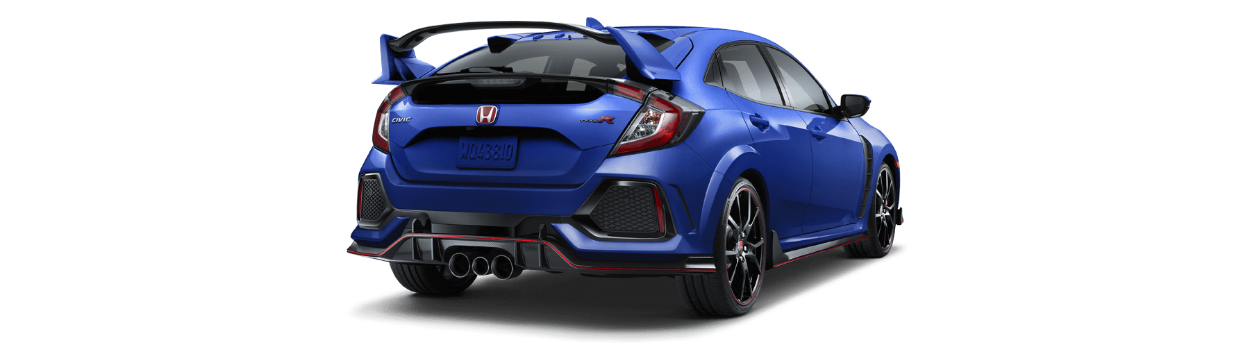 2018 Honda Civic Type R Rear Angle