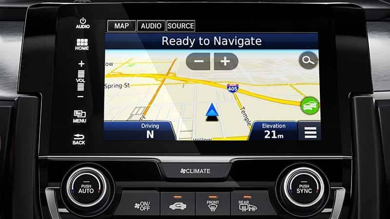 2018 Honda Civic Coupe Navigation System