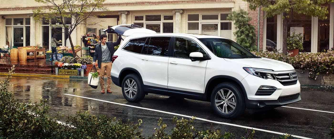 2018 Honda Pilot Easy Access