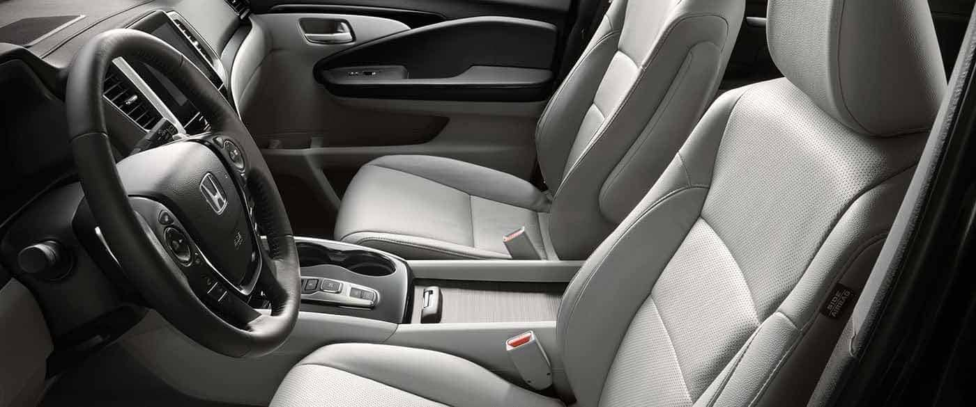 2018 Honda Pilot Elite Seating