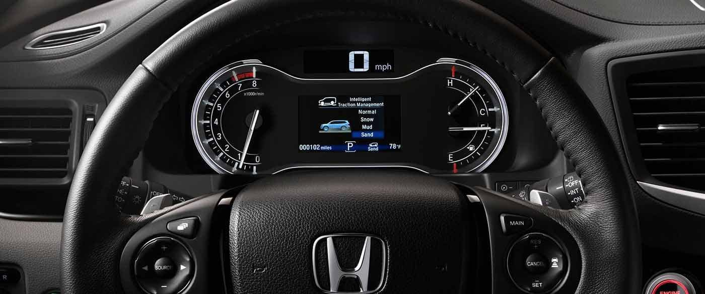 2018 Honda Pilot Heated Steering Wheel