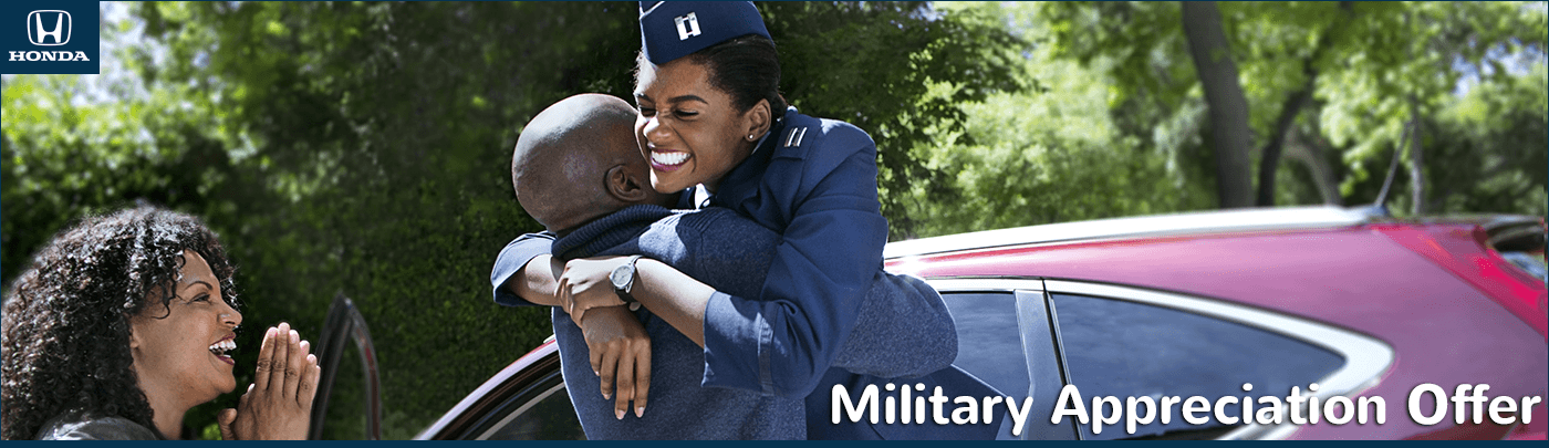 Capital Region Honda Dealers Military Appreciation Offer
