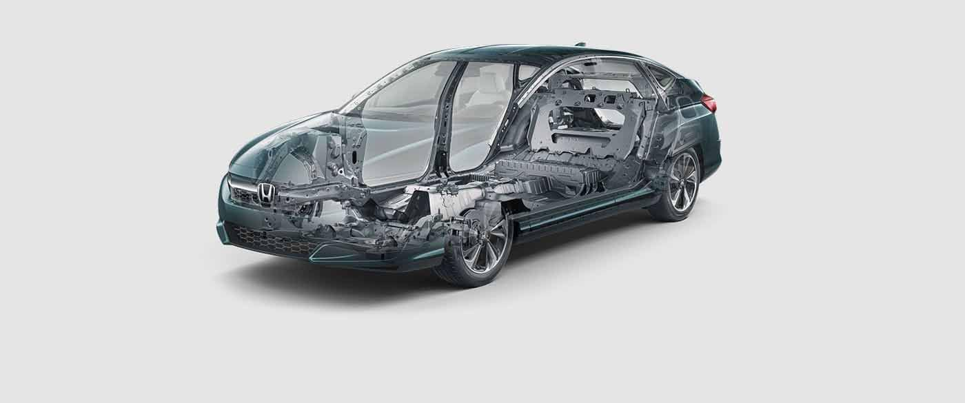2018 Honda Clarity Plug In Hybrid ACE Body Structure