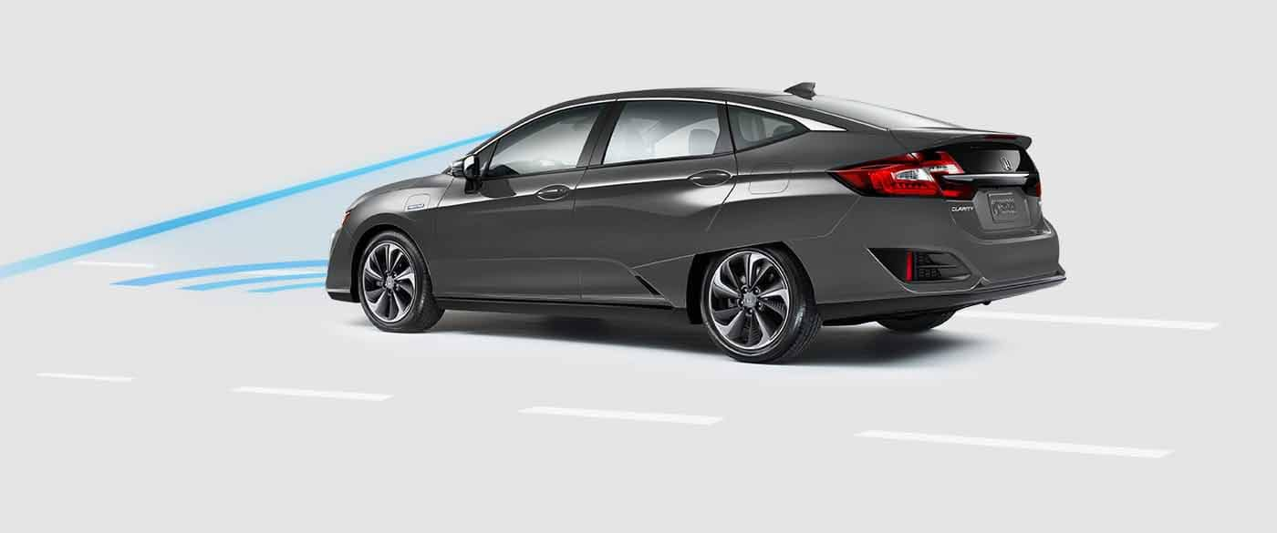 2018 Honda Clarity Plug In Hybrid Collision Mitigation Braking System