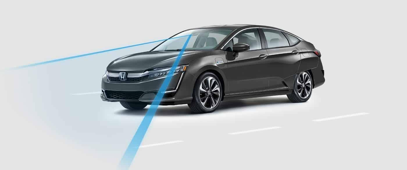 2018 Honda Clarity Plug In Hybrid Road Departure Mitigation System