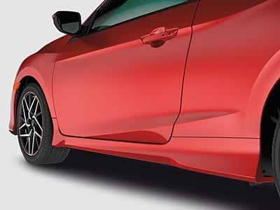 2018 Honda Civic SI Coupe Underbody Side Spoiler