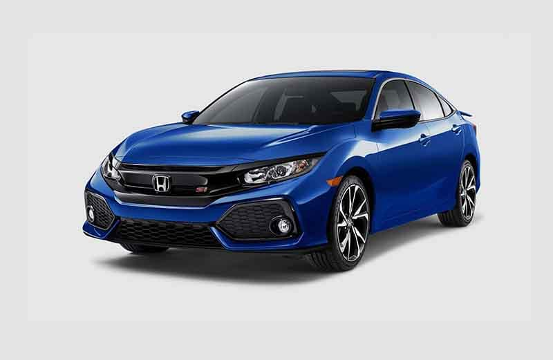 2018 Honda Civic Si Sedan 3-4 Angle View