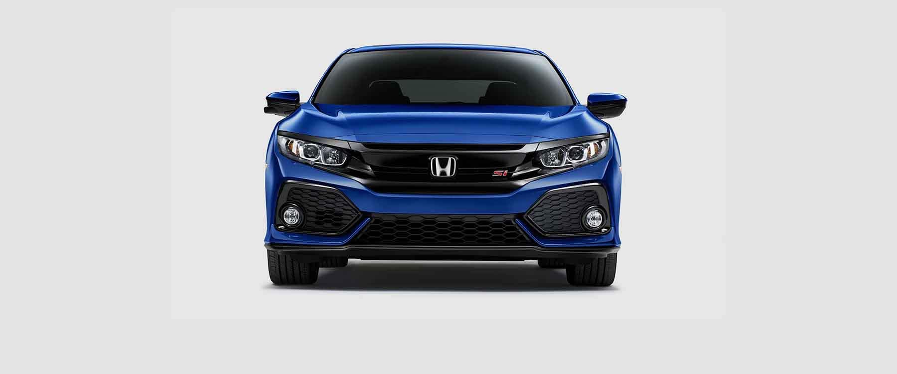 Front end view of 2018 Honda Civic Si Sedan