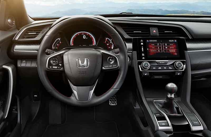 2018 Honda Civic Si Sedan Interior Dashboard