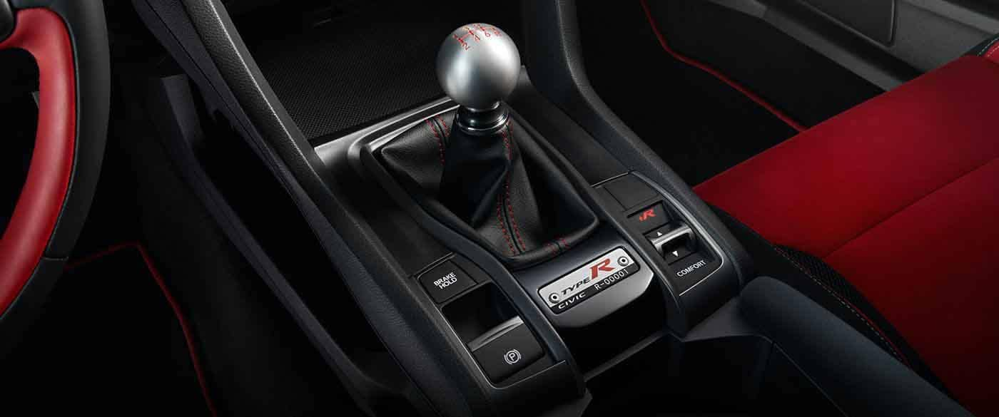 2018 Honda Civic Type R Manual Transmission Interior View