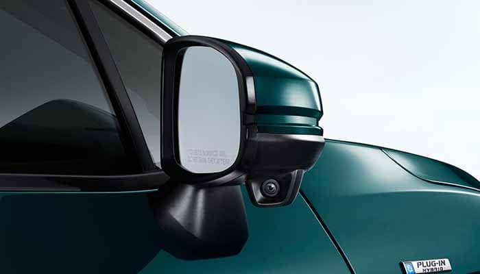 2018 Honda Clarity Plug In Side Mirror with Honda Lanewatch Camera