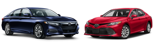 Honda Accord vs. Toyota Camry: ALG Residual Values