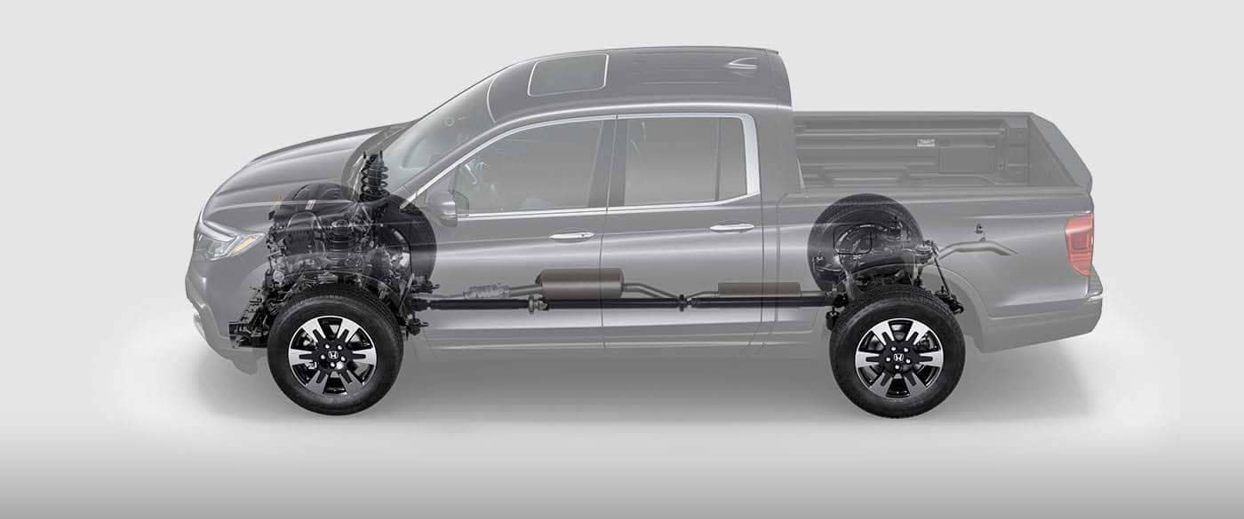 2019 Hond Ridgeline Engine