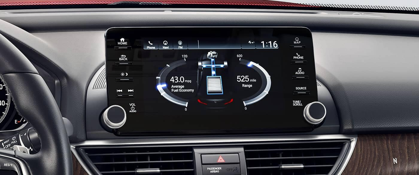2018 Honda Accord Hybrid Display Screen System