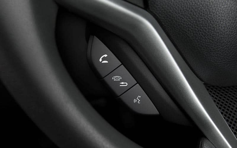2019 Honda Fit Bluetooth Controls on Steering Wheel