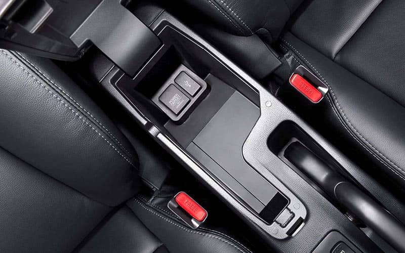 2019 Honda Fit Center Console with 12V Power Outlet