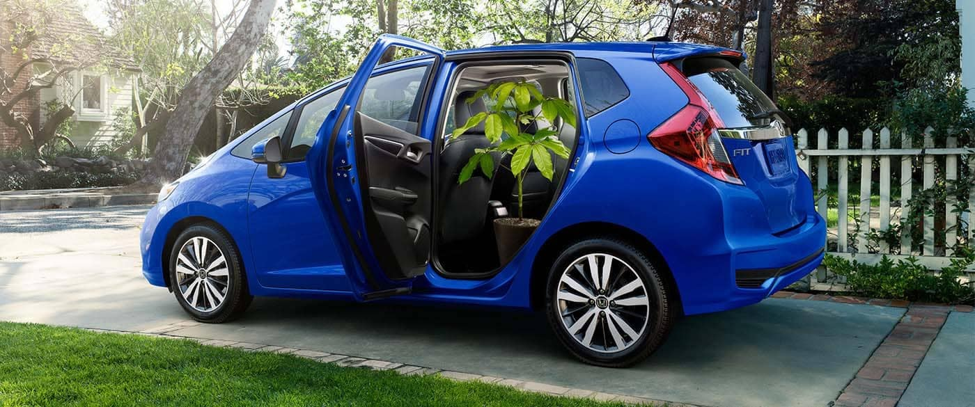 2019 Honda Fit Tall Mode Cargo Storage