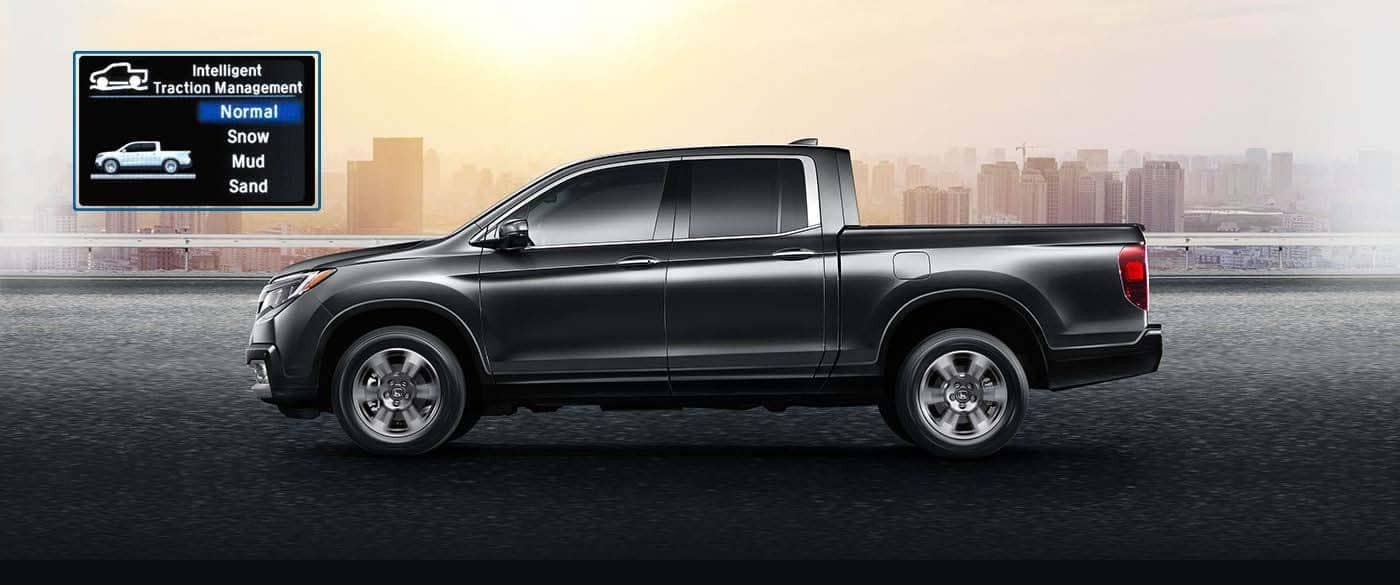 2019 Honda Ridgeline AWD Traction System