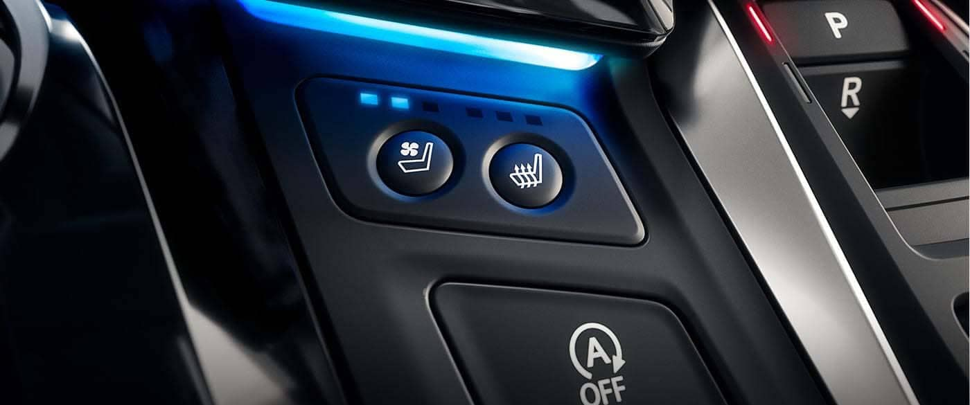 2019 Honda Odyssey Heated and Cooled Seats