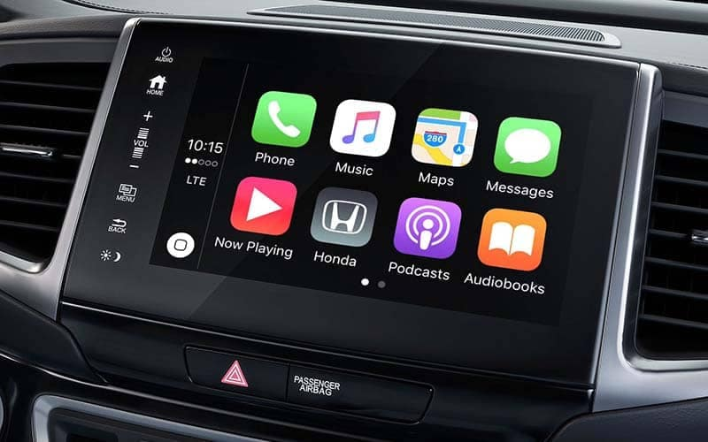 2019 Honda Ridgeline Apple Carplay Screen