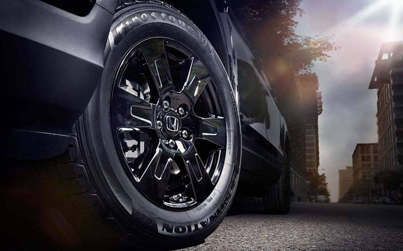 2019 Honda Ridgeline Black Edition Tire