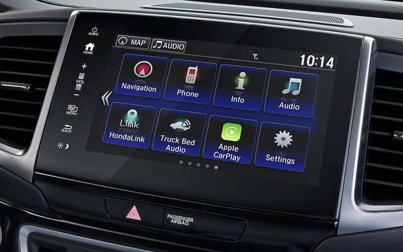 2019 Honda Ridgeline Display Screen with Streaming Audio
