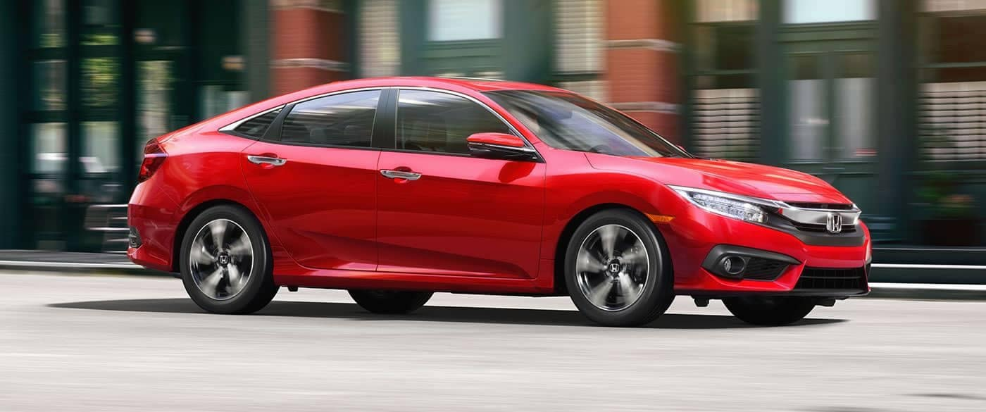 2018 Honda Civic Sedan Driving