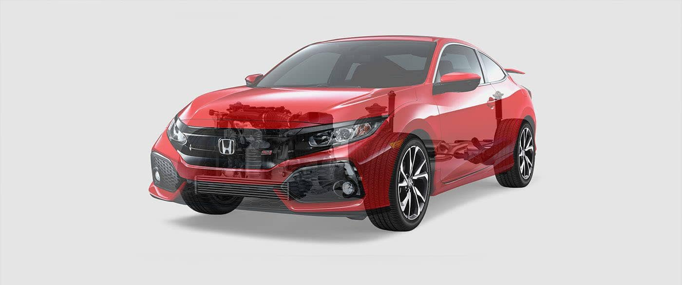 2018 Honda Civic Si Coupe Turbo Charged