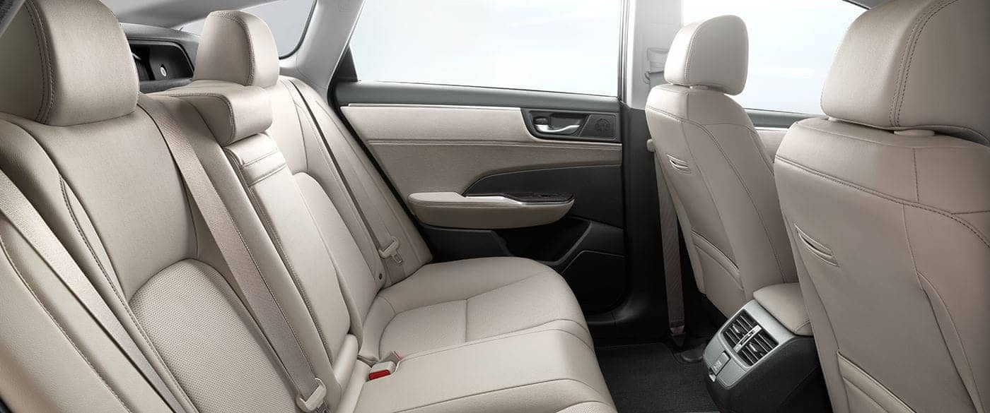 2018 Honda Clarity Plug In Hybrid Interior Leather Seating