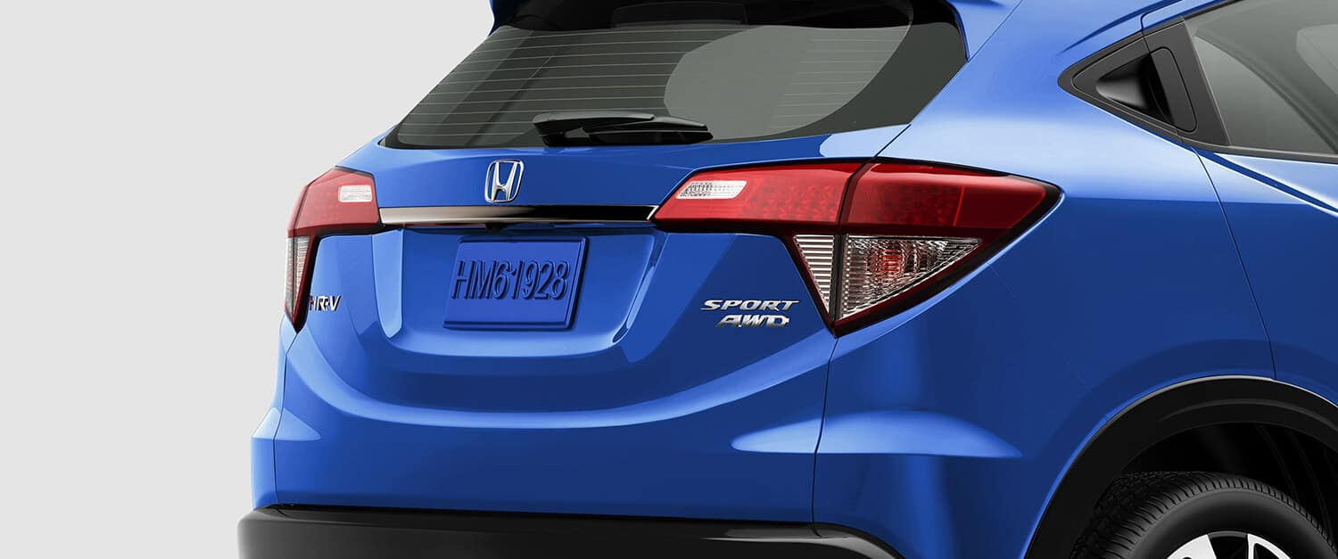 2019 Honda HR-V Exterior Rear Angle Closeup