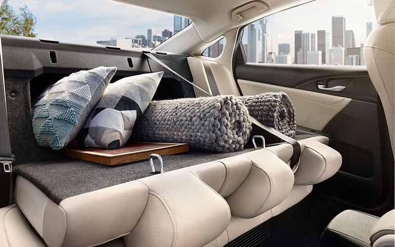 2019 Honda Insight Cargo and Interior Space