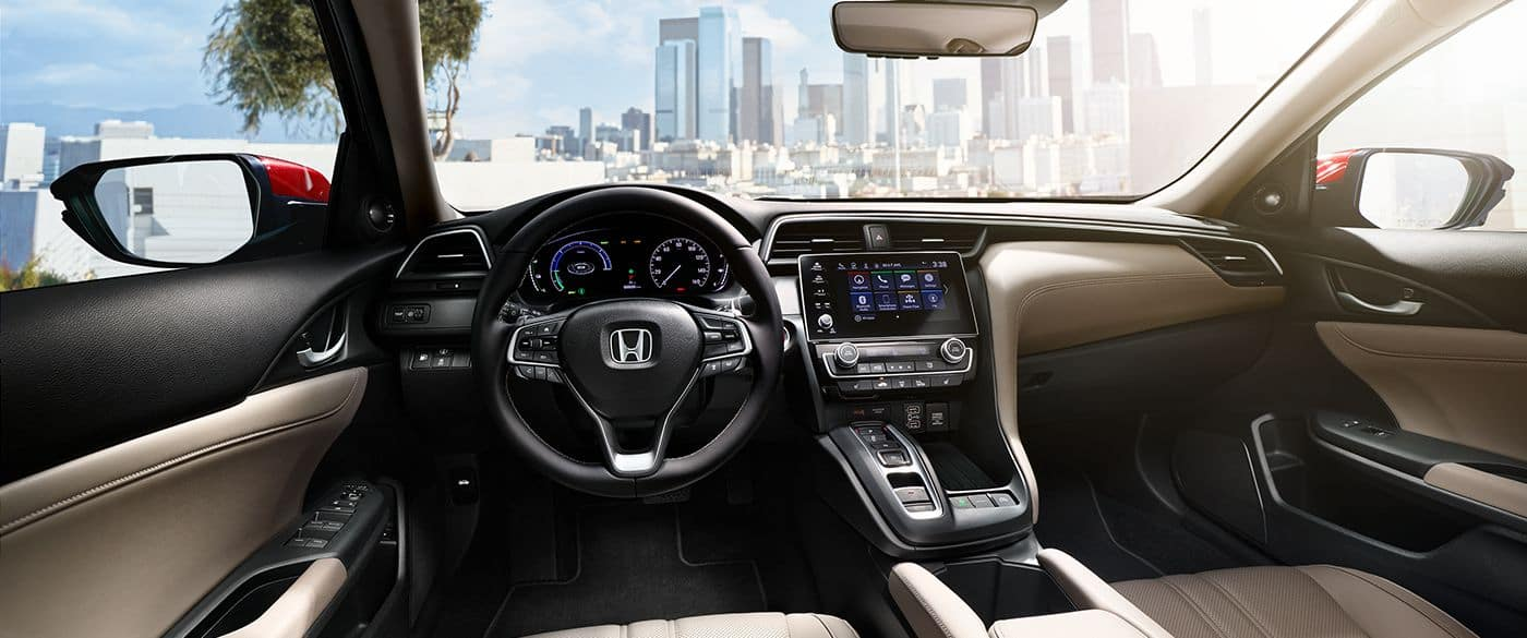 2019 Honda Insight Interior Front Seating and Dashboard