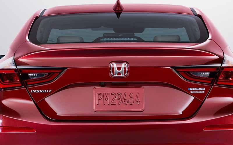 2019 Honda Insight Rearview Camera Mounted