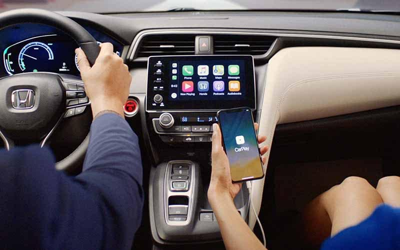 2019 Honda Insight Smart Phone Connectivity Apple Carplay