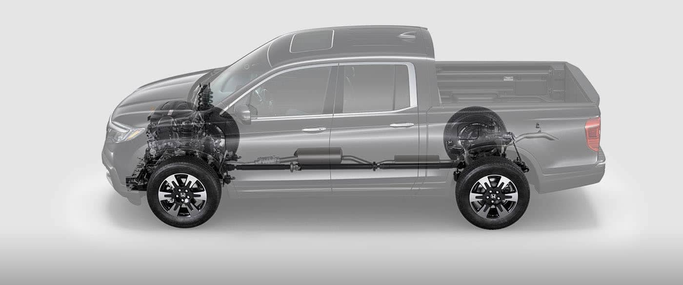 2019 Honda Ridgeline Engine and Transmission