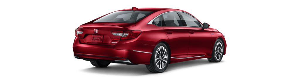 2018 Honda Accord Hybrid Rear Angle