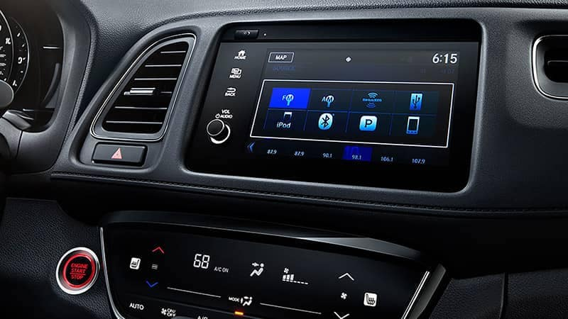 2019 Honda HR-V 7 inch Display Audio Screen