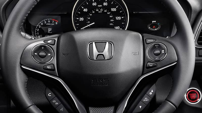 2019 Honda HR-V Steering Wheel Illuminated Controls