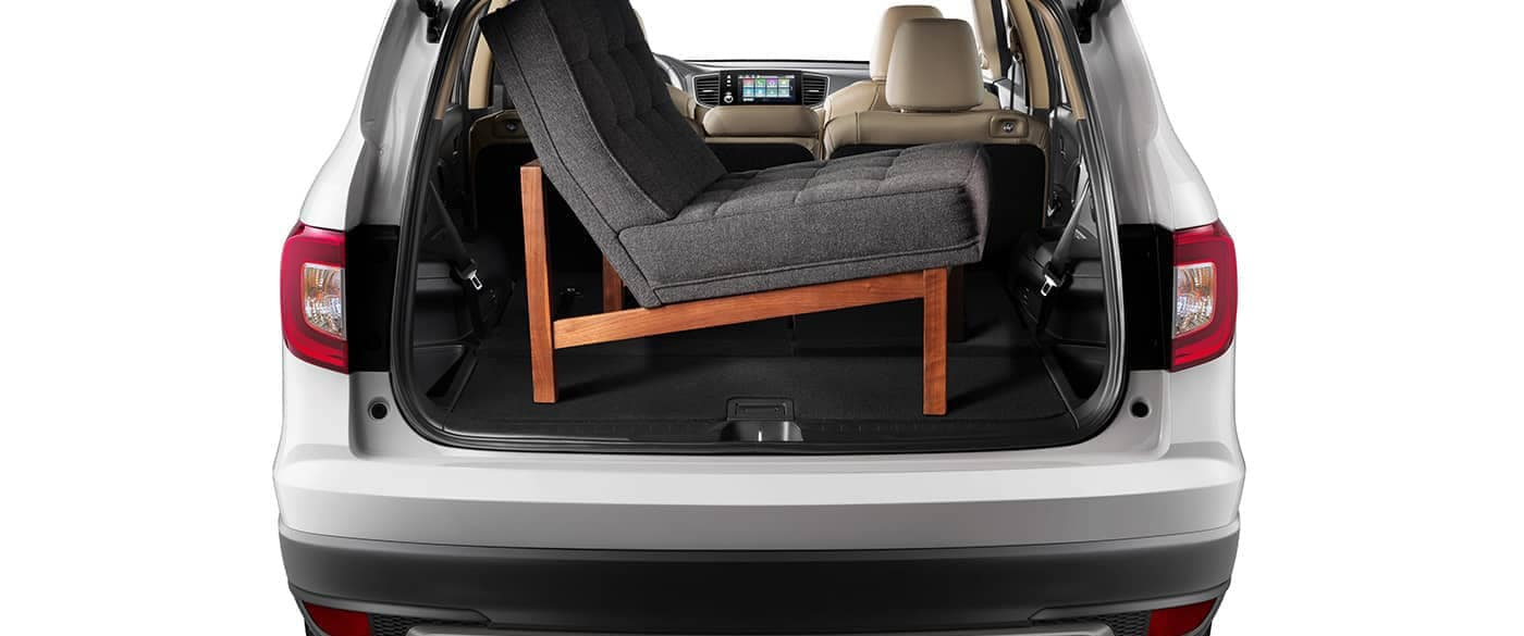 2019 Honda Pilot Chair in Cargo Area