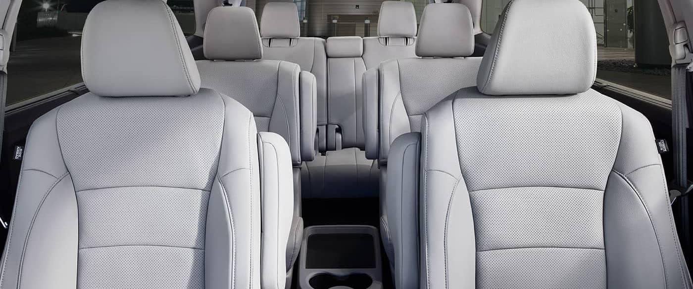 2019 Honda Pilot Leather Trimmed Interior