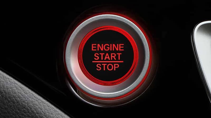 2019 Honda Pilot Push Button Start