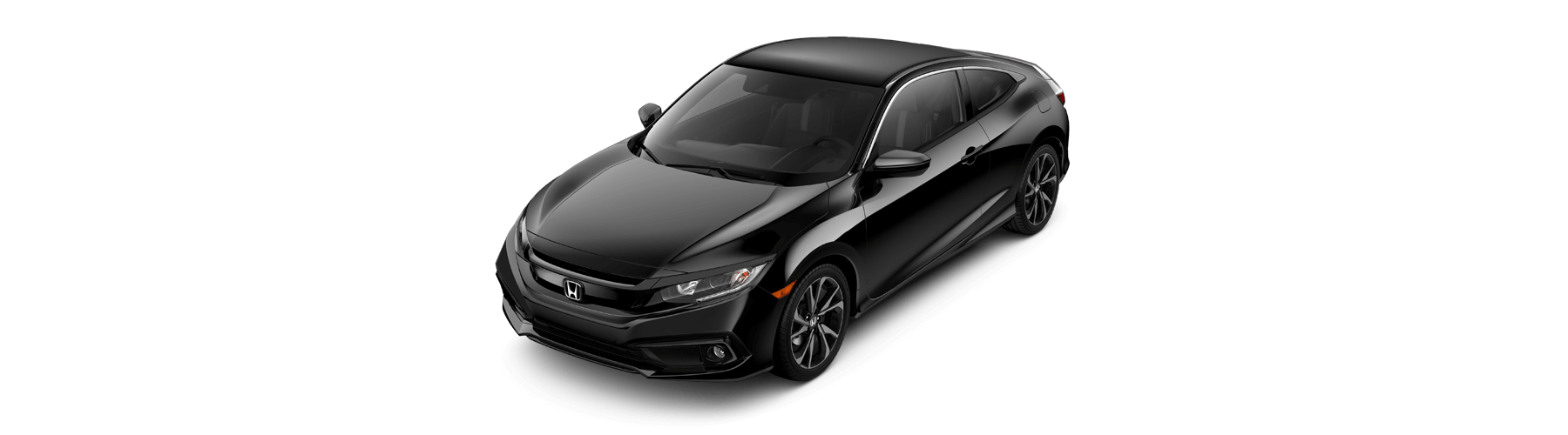 2019 Honda Civic Coupe Front Angle