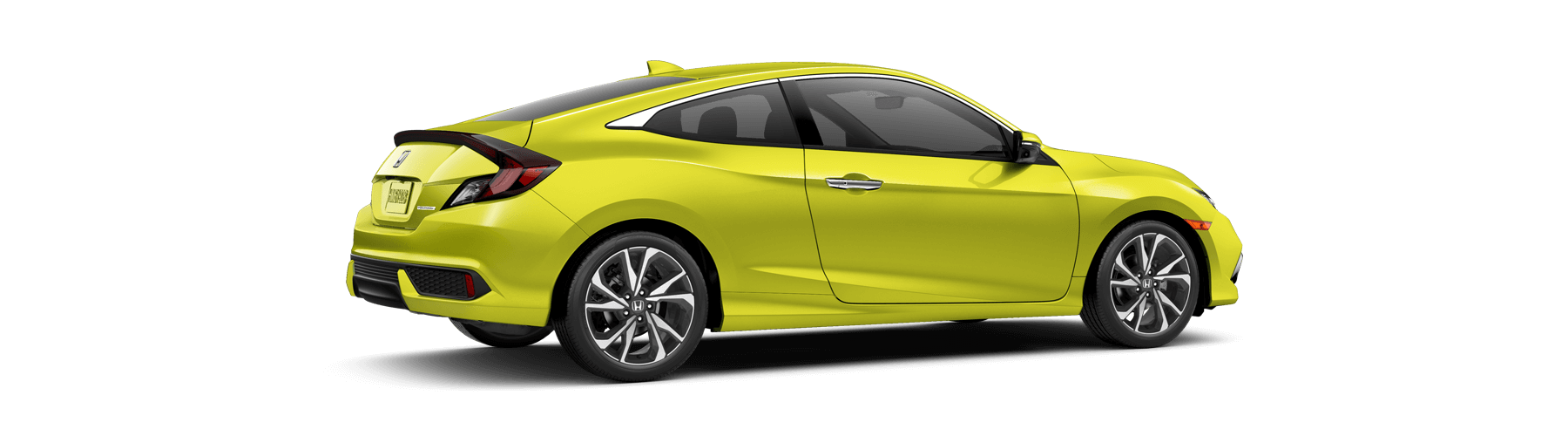 2019 Honda Civic Coupe Rear Angle