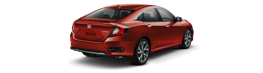 2019 Honda Civic Sedan Rear Angle