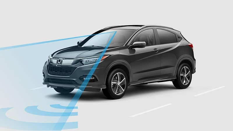 2019 Honda HR-V Road Departure Mitigation System