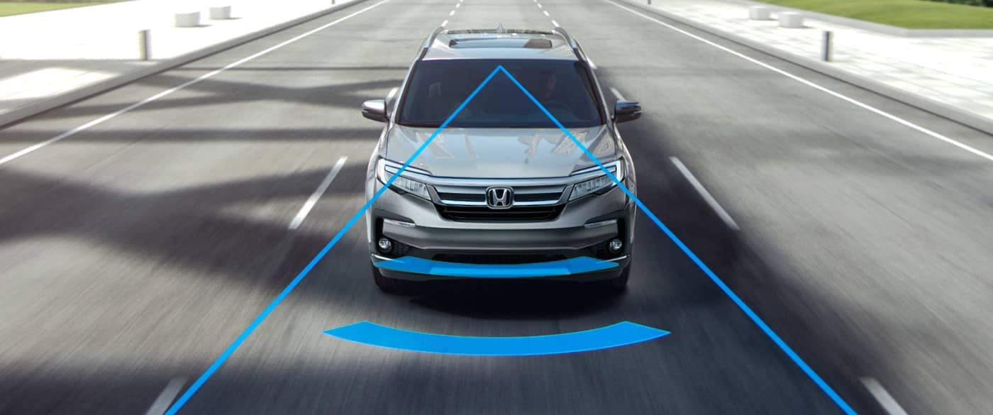 2019 Honda Pilot Collision Mitigation Braking System